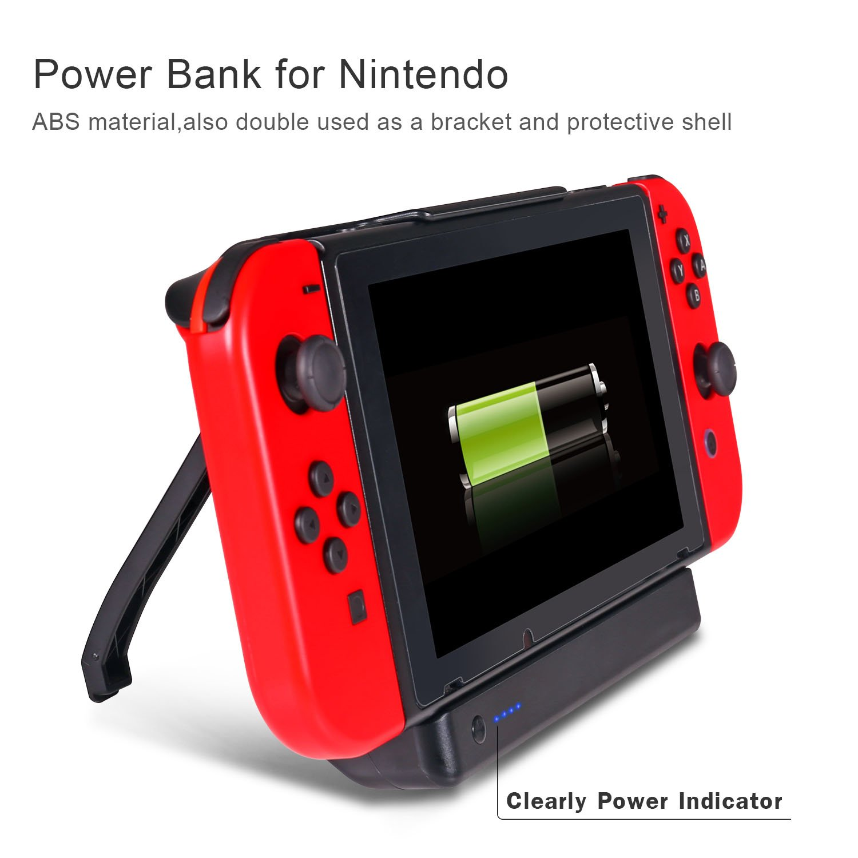 Cargador de batería Interruptor de batería Externa 10000mAh ...