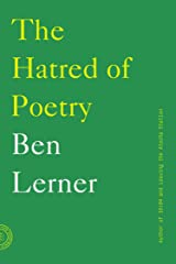 The Hatred of Poetry Kindle Edition