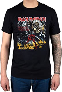 a3006390c Official Iron Maiden Final Number of The Beast #1 T-Shirt Rock Metal Hermit