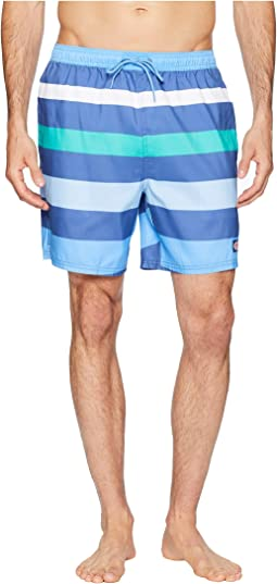 Prep Stripe Chappy Swim Trunks