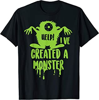 Help! I've Created A Monster Shirt | Cool Pregnancy Gift