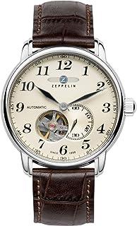 [ツェッペリン] ZEPPELIN  ブランド腕時計 ドイツ製 flatline LZ-127 Automatikシリーズ 自動巻 オープンハート スモールセコンド 7666-5 【並行輸入品】
