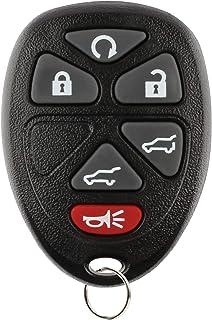KeylessOption Remote Key Fob for GM (15913427, 15857840, OUC60270)