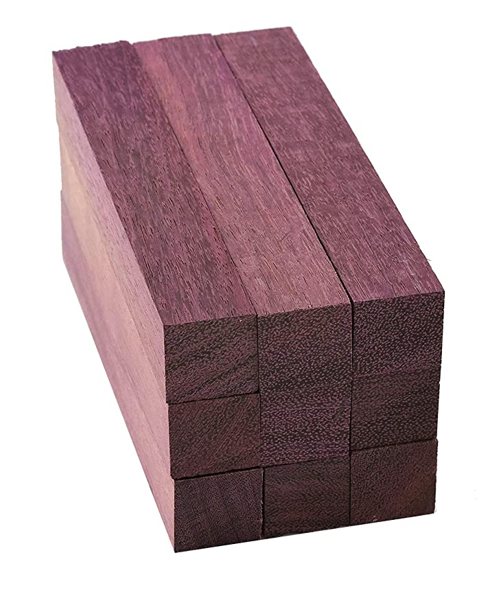 Purpleheart Pen Blanks, 9 pack …