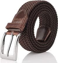 حزام مضفر مطاطي، حزام منسوج قابل للتمدد من Fairwin Enduring للرجال/للنساء/الصغار