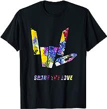 Share the Love flowers T-Shirt Gift for Men Women Kids