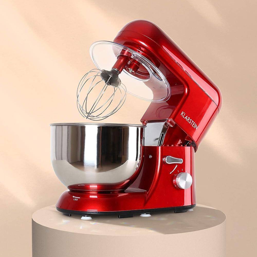 Klarstein tk1 , impastatrice planetaria , robot da cucina , mixer , ciotola in acciaio da 5 , 2 l 4260440460130