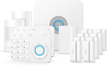 Ring Alarm 14 Piece Kit – Home Security System with optional 24/7 Professional Monitoring – No long-term contracts – Works with Alexa