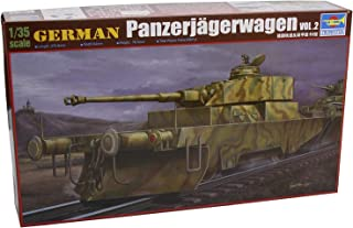 Trumpeter 00369 German Panzerjagerwagen vol. 2, 1/35 Scale Plastic Model Kit