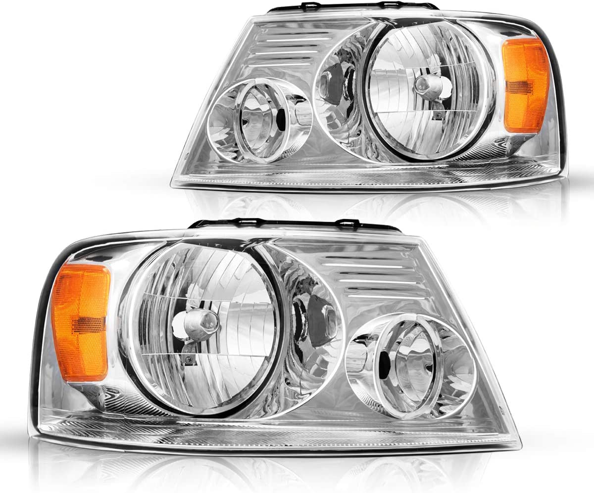Credence Torchbeam Headlight Assembly for Compatible 2004-2008 Front with Genuine