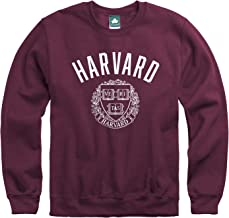 Ivysport Crewneck Sweatshirt, Cotton/Poly Blend, Legacy Logo Color, NCAA Colleges and Universities