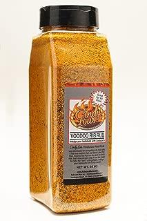 Cindy Lou's Voodoo Rib Rub and Seasoning- 26 oz