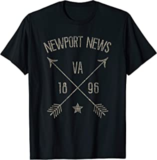 Newport News VA Shirt Vintage Distressed Style Home City