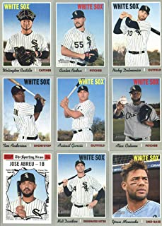 497f463f 2019 Topps Heritage Baseball Chicago White Sox Team Set of 16 Cards:  Michael Kopech/