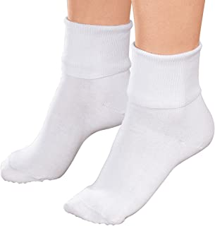 Women's BUSTER BROWN 100% COTTON SOCKS (3 PAIR PACKAGE)