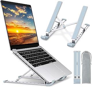 Babacom Support de refroidissement en aluminium pour ordinateur portable avec 9niveaux réglables compatible avec MacBook ...