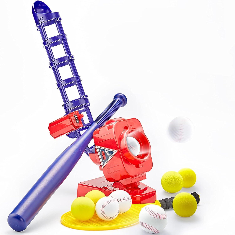 Cheap CubicFun Baseball Pitching Machine for Kid Toys Ranking TOP18 Outdoor Kids