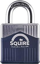 Henry Squire Warrior High-Security Open beugel 5-polige cilinderhangslot, 45 mm (lengte) x 26 mm (breedte)
