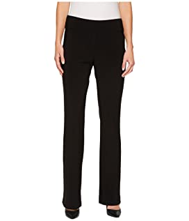 Microfiber Long Slight Flare Pants