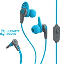JLab Audio JBuds Pro Premium in-Ear Earbuds with Mic, Guaranteed Fit, Guaranteed for Life - Blue