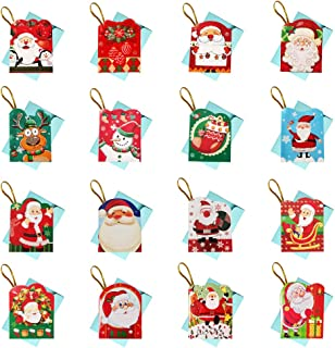 Mini Cards, UPWAY 128 pack Decoration Cards, Best Gift Cards with 16 Envelopes