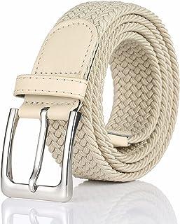 Elastic Braided Belt, Woven Stretch Belt for Men and Women
