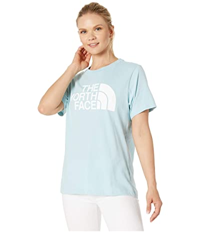 The North Face Short Sleeve Half Dome T-Shirt (Windmill Blue/TNF White) Women