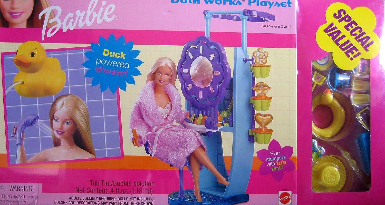 hasta 42% de descuento Barbie Bath Works Jugarset w Special Value Bonus Bonus Bonus (2000)  promociones de equipo