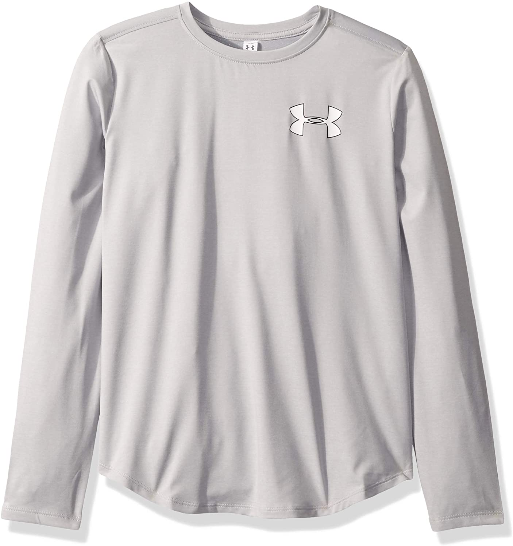 Under Armour Girls' Houston Mall Heatgear sleeve Direct stock discount Long