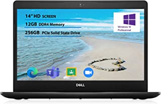 """2021 Newest Dell Inspiron 14"""" HD Laptop, Intel i3-1005G1, up to 3.40 GHz, 12GB DDR4 RAM, 256GB PCIe Solid State Drive, Win..."""