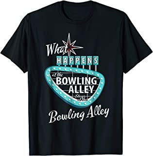 Funny Retro Bowling What Happens at the Bowling Alley Vegas
