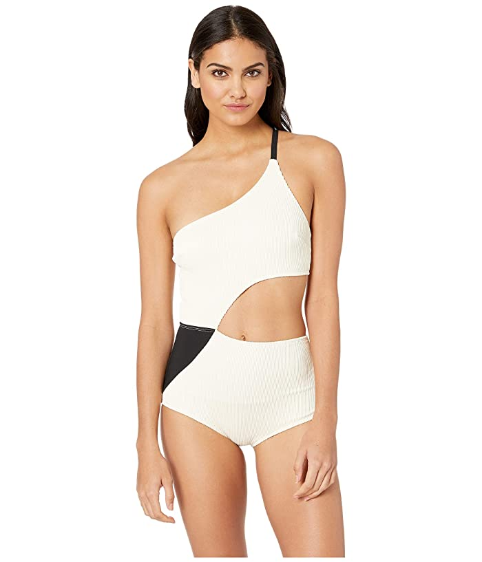 FLAGPOLE Ali One-Piece (Lychee/Black) Women