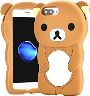 Relax Bear Case for iPhone 8 Plus /7 Plus/6/6S Plus 5.5
