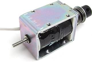 TAKAHA Push Pull DC Solenoid 12v Stroke 10 mm (0.39 in) Force 1.7N Electromagnet CBS12400320 Made in Japan