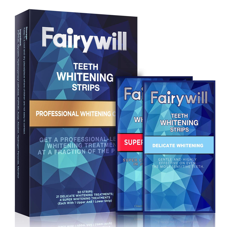 Fairywill Whitening Sensitive Professional Whitestrips