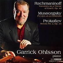 Rachmaninoff & Prokofiev Played By Garrick Ohlsson