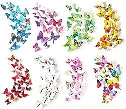 plastic wall butterflies