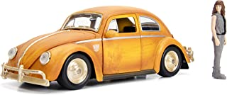 Jada Toys Transformers Bumblebee Volkswagen Beetle Die-cast Car, 1:24 Scale Vehicle & 2.75