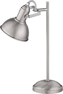 WOFI 8314.01.64.8000 Lampe de table, Métal, Nickel Mat