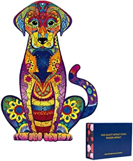 Wooden Puzzles for Adults,Wooden Animals Shaped Puzzles,Unique Shaped Jigsaw..