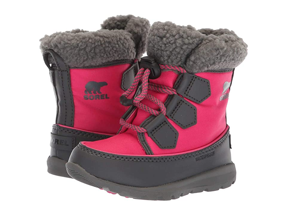 SOREL Kids Whitneytm Carnival (Toddler/Little Kid) (Ultra Pink/Dark Grey) Girls Shoes