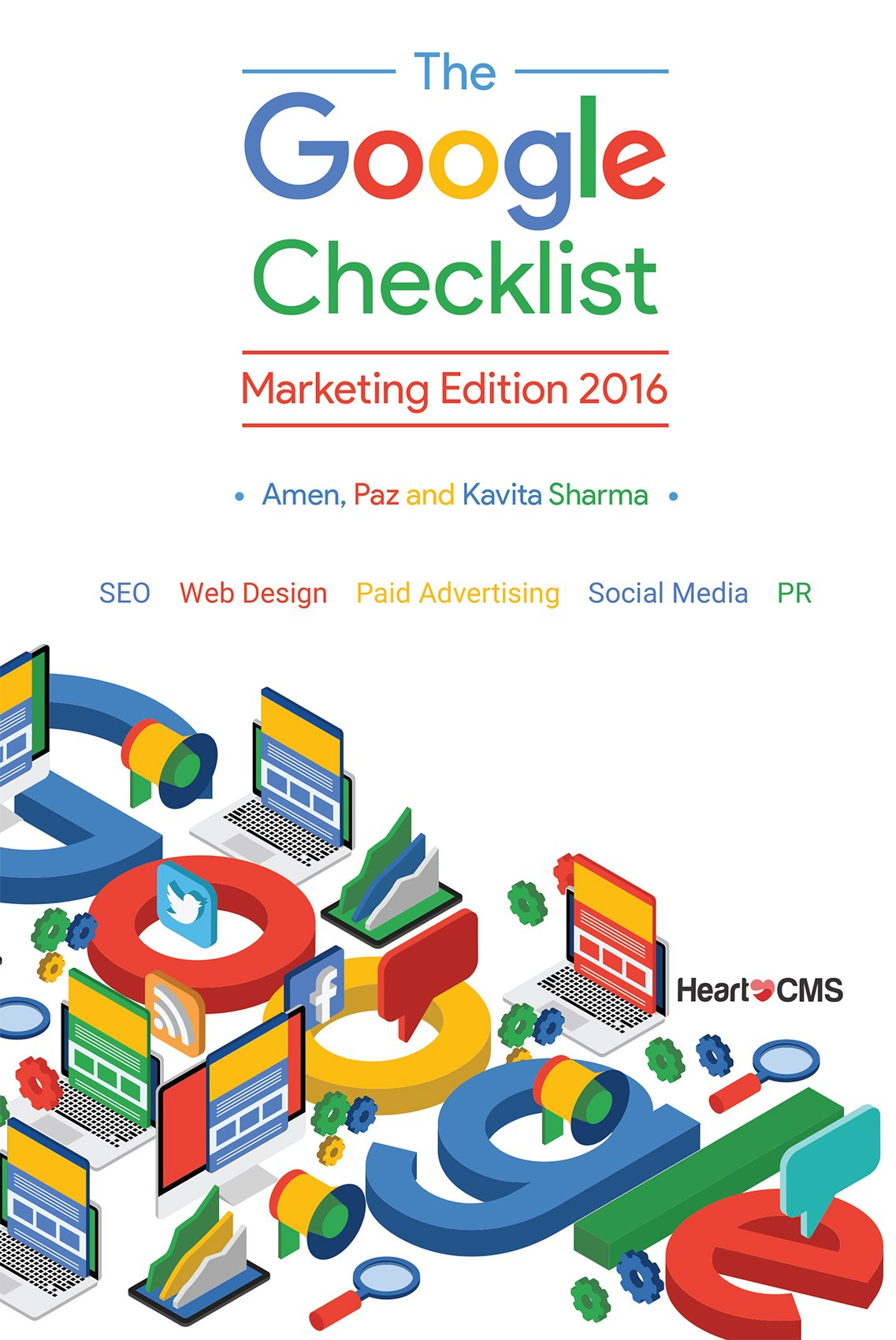 Download The Google Checklist: Marketing Edition 2016: SEO, Web Design, Paid Advertising, Social Media, PR. (English Edition)