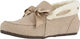 Vionic Women's Haven Shirley Slipper - Ladies Faux Shearling Ankle Slippers with Concealed Orthotic Arch Support