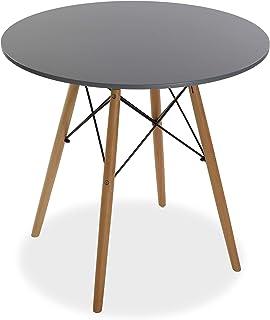 Versa Priya Table à Manger pour Cuisine, Terrasse, Jardin ou Salle à Manger, Dimensions (H x l x L) 73 x 80 x 80 cm, Bois,...