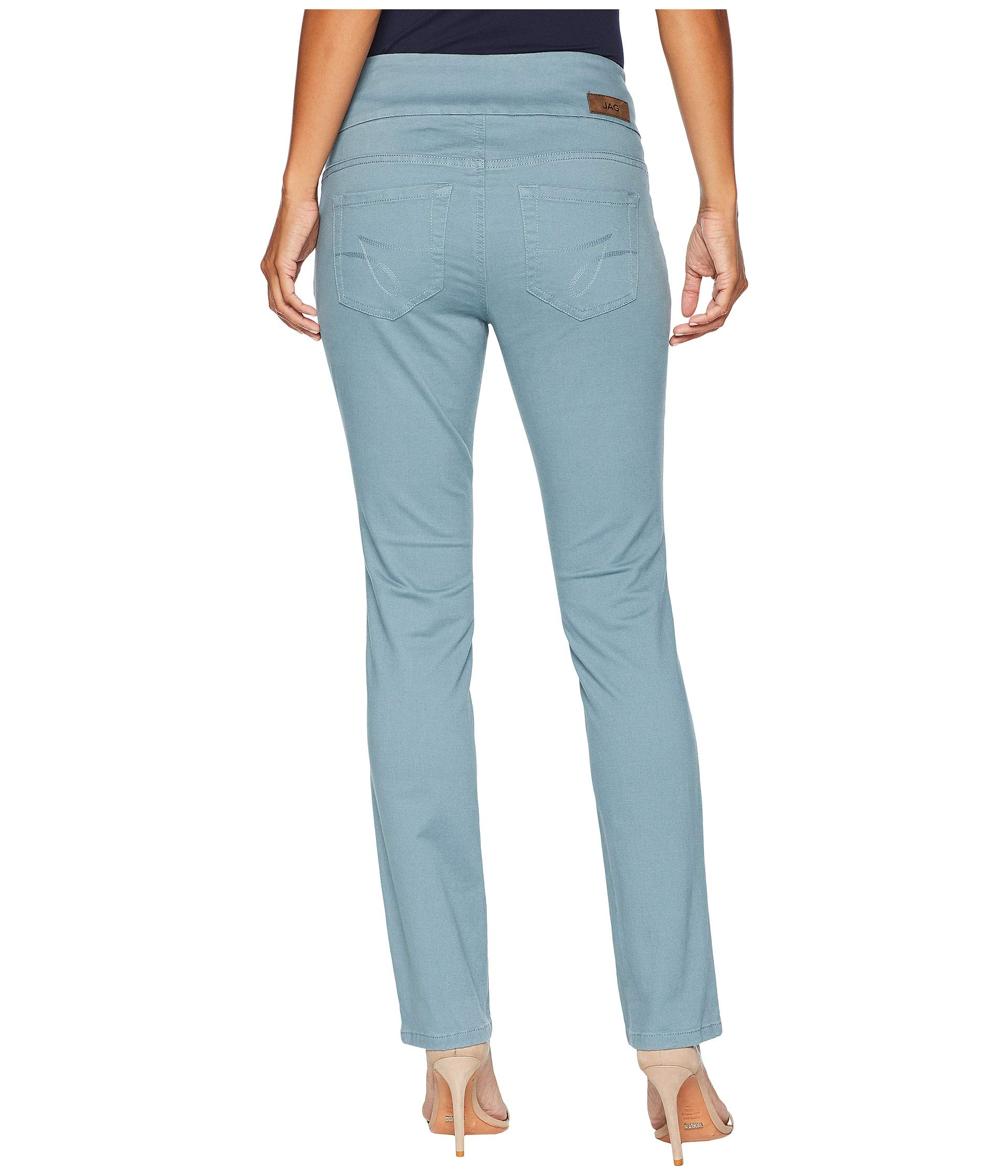 On Jag Storm Twill Peri Petite Jeans Pants Pull Sea Straight wIOURIq