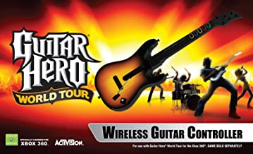 $300 Get Xbox 360 Guitar Hero World Tour - Stand Alone Guitar