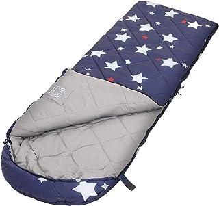 comprar comparacion SONGMICS Saco de Dormir Portátil, para Camping, con Patrón de Estrellas