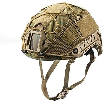 OneTigris ヘルメットカバー MC ヘルメット保護用 Fast PJ タイプに ヘッドウェア サバゲー マルチカム迷彩 (マルチカム迷彩)