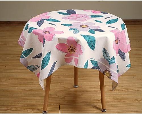 Küchenwäsche Leinen Tischdecke, Literatur und Kunst Runde Tischdecke Square Esstisch Couchtisch Schreibtisch Tischdecke ( Farbe   1  , Größe   140200CM )