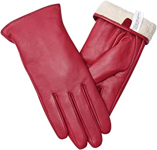 Best womens winter white leather gloves Reviews